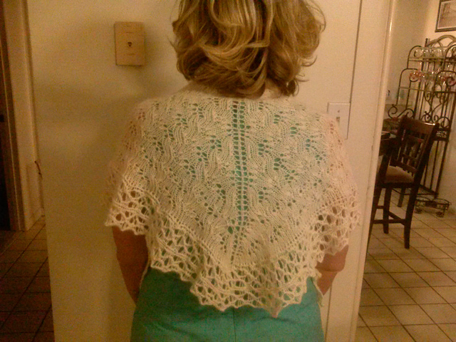 Made by Me Wednesday: Lace Shawl